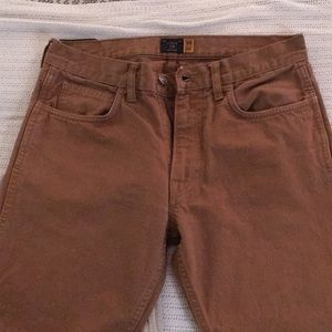 J. Crew British Khaki 5 Pocket Pant